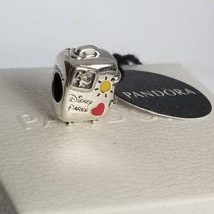 Pandora Disney Vacay Mode' Suitcase Charm